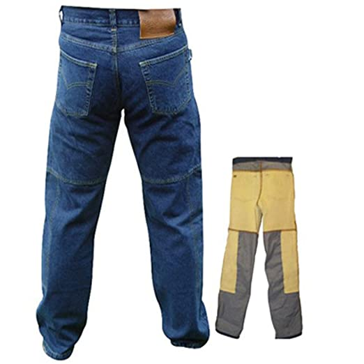 comprare popolare 94235 5a2af Uomo - Pantaloni da Moto/Jeans - Kevlar impermeabile - con ...