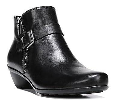 759b99c53fd2e Amazon.com | Naturalizer Womens Hitch Leather Closed Toe Ankle ...