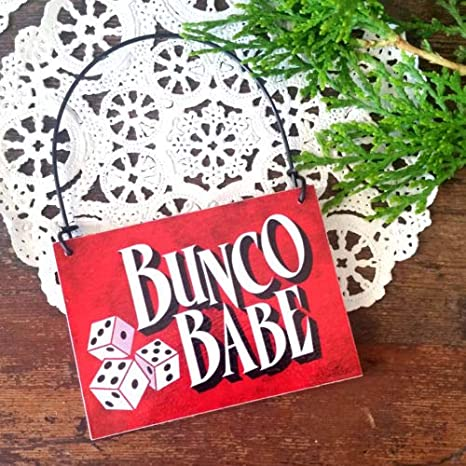 Astonishing Amazon Com Bunco Babe Ornament Red Bunco Group Gifts Party Download Free Architecture Designs Scobabritishbridgeorg