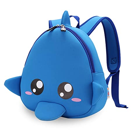 FANDARE Lovely Anti-Lost School Bag Cartoon 1-3 Children Backpack  Kindergarten Kids Shoulder bff48bf673236