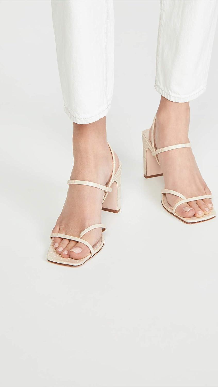 SCHUTZ Womens Amaia High Block Sandals