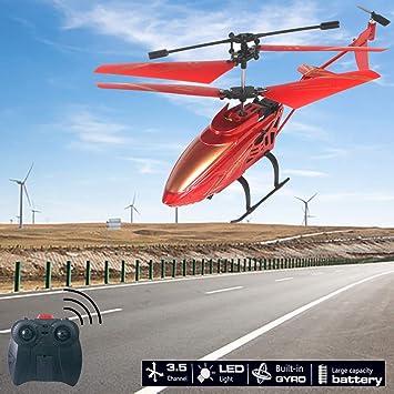 Dron helicóptero para niños, CHSHE, juguete para niños, avión, 3,5 ...
