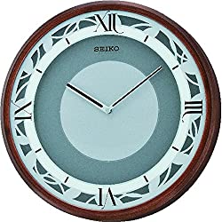 Seiko QXS004BRH Emotional Japanese Quartz Wall Clock