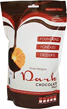 Image ofFinest Belgian Dark Fondue Chocolate Drops 900g