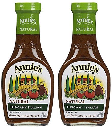 Italian Tuscany Dressing - Annie's Naturals Dressing Tuscany Italian - 8 fl oz