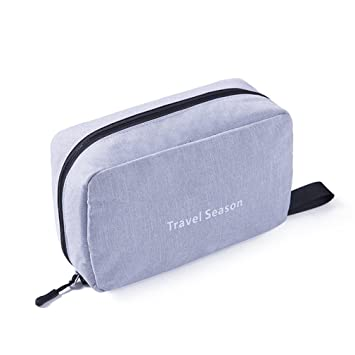 ff9f90ce8ee0 Amazon.com   Travel Cosmetic Bag Men Wash Shaving Bag Waterproof Women  Toiletry Storage Large Capacity Vanity Organizer Toilet Bag Makeup Kit    Beauty