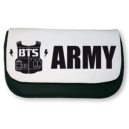 PTP – Estuche escolar negra K-pop BTS Army