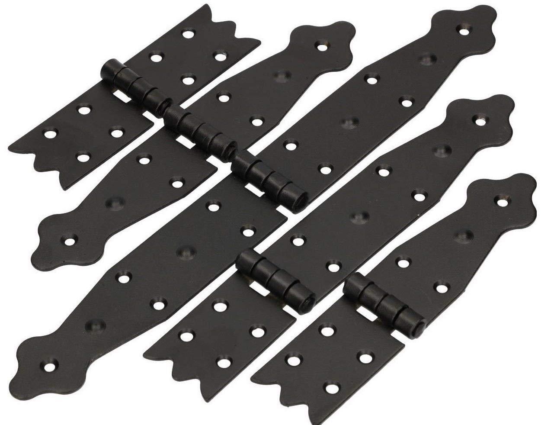 KOTARBAU Kistenband 160 x 35 mm Kistenscharnier Tischscharnier M/öbelband M/öbelscharnier Truhenband Fl/ügelscharnier Pulverbeschichtet negro.