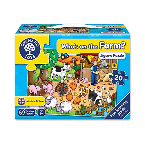 - Who's On The Farm 20 Piece Puzzle