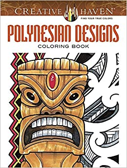 Book By Erik Siuda Creative Haven Polynesian Designs Coloring Book (Creative Haven Coloring Books) (Clr Csm)