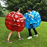 PETUOL Bumper Balls 2 Packs, 36in Inflatable Buddy Sumo Wrestling Bumper Ball for Adults & Kids Toys Games - Heavy Duty Durable PVC Vinyl Suits for Grassplot or Outdoors Play Thanksgiving Christmas