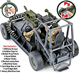 Click N' Play Military Desert Patrol Vehicle