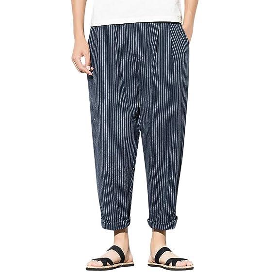 cinnamou Pantalones Deporte Hombre Pantalones con Tirantes Hombre ...