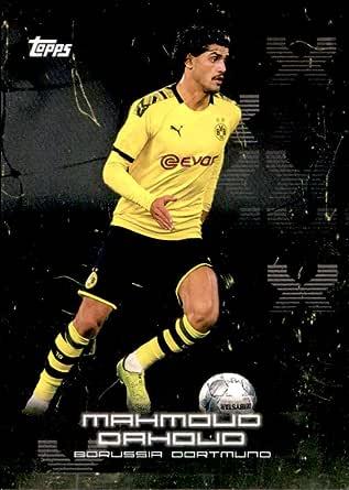 Amazon.com: 2020 Topps X Bundesliga Borussia Dortmund #16 Mahmoud ...