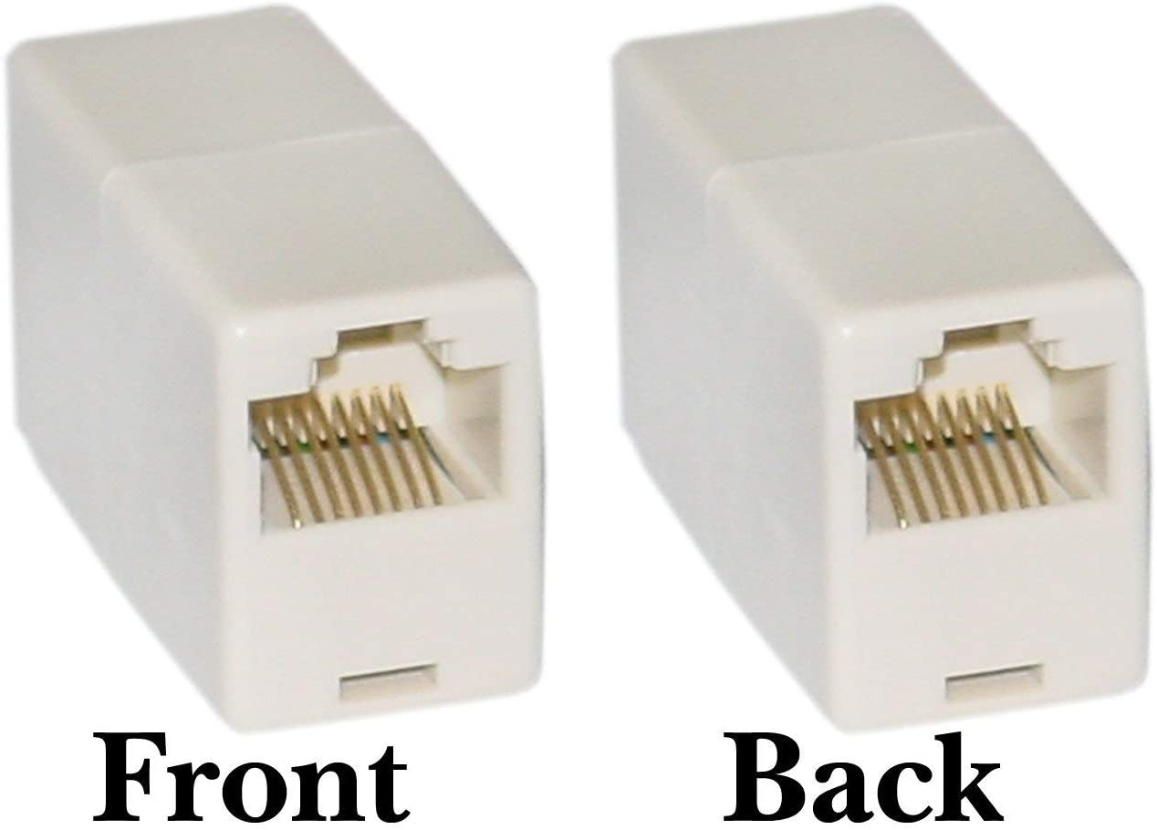 Telephone Inline Coupler Straight GOWOS RJ45 8P8C,
