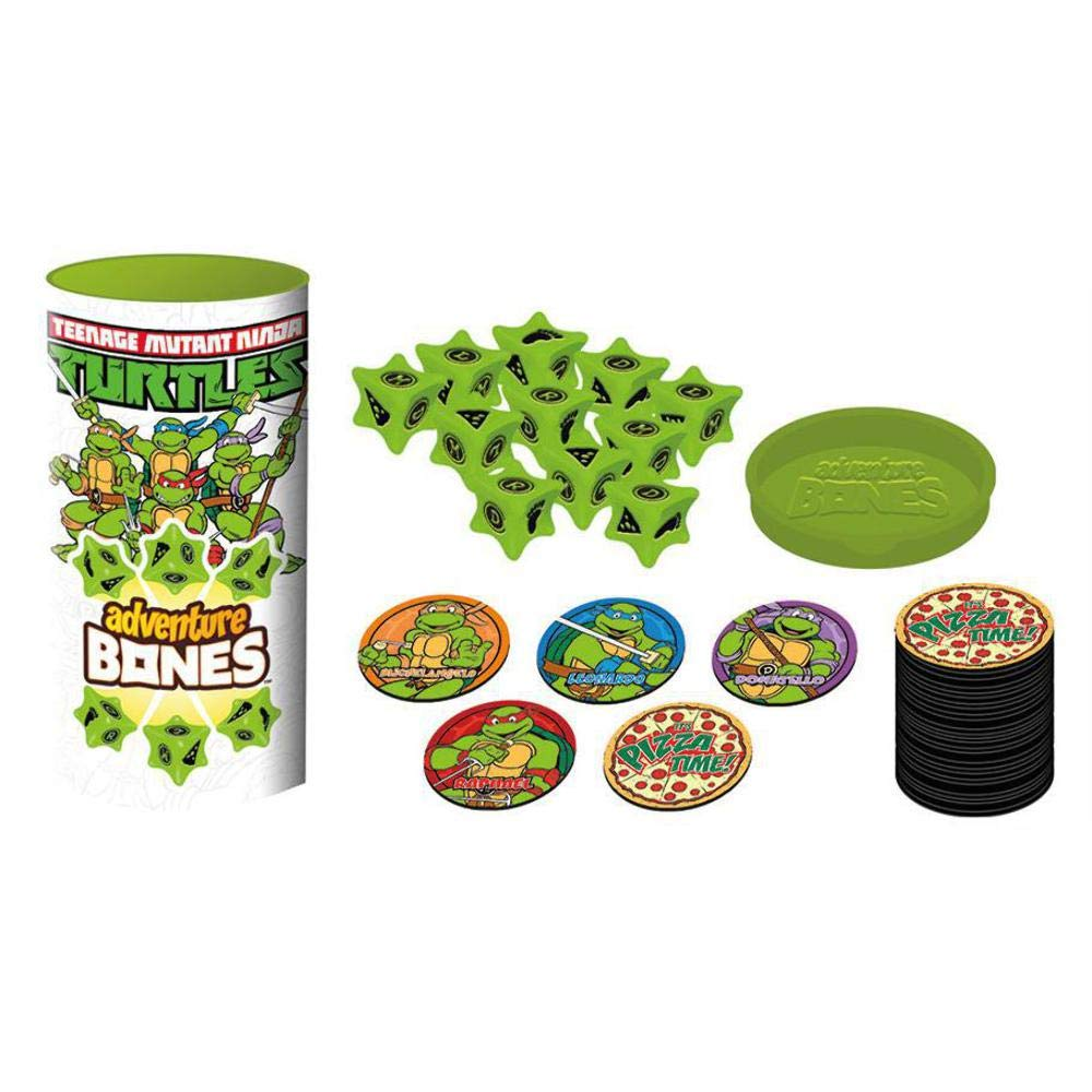 Aquarius Tortugas Ninja Bones Juego Dados: Amazon.es ...