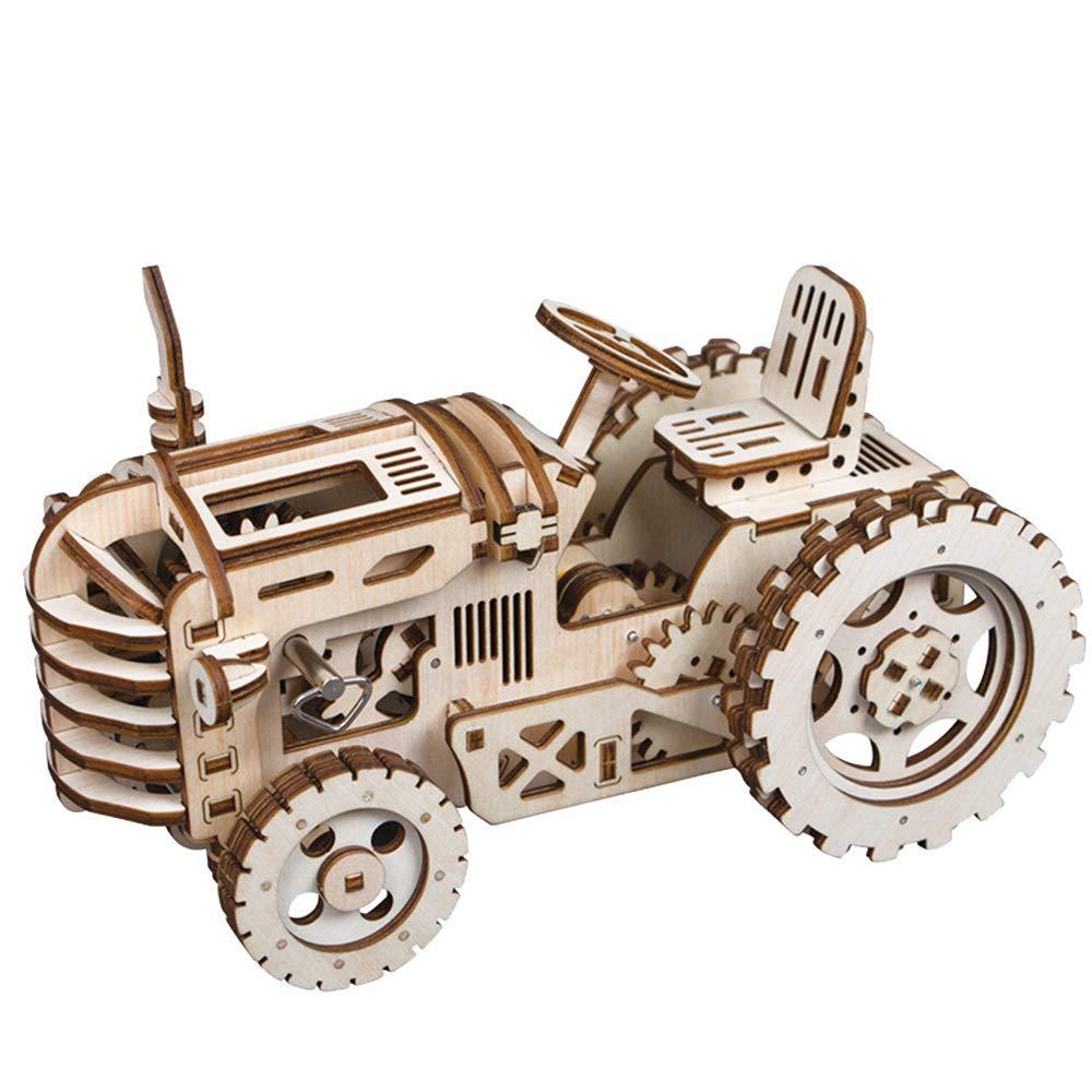 JAYE 3D Puzzle Spielzeug für Kinder, Holzhandwerk Assemble Stereoskopisches Spielzeug, Entwicklung von Intelligenz und Erhöhung der Hands-On Ability DIY zu Finden Fun-Spielzeug B07PCPMN8J 3D-Puzzles Neues Produkt   | Lebensecht