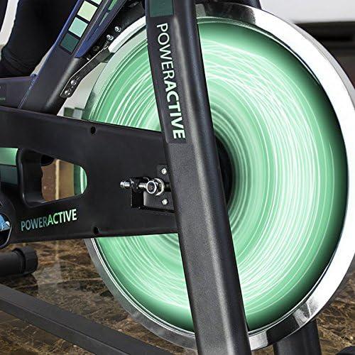 Cecotec Bicicleta Spinning, Volante de inercia de 16 Kilos, Sistema SilenceFit: Amazon.es: Deportes y aire libre