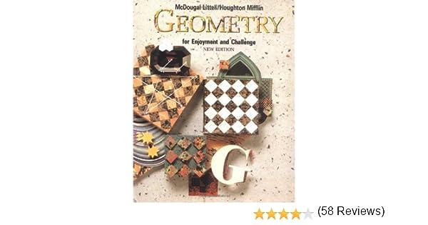 Amazon.com: Geometry for Enjoyment and Challenge (9780866099653 ...