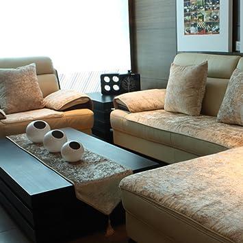 Jiaqi Plush Sofa Slipcover Sofa Covers For Leather Sofa Furniture