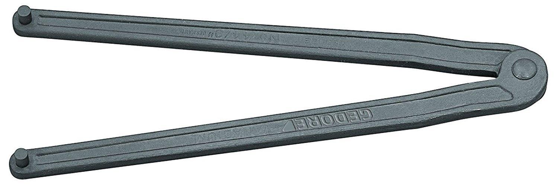 5 mm verstellbar Zweilochmutterndreher