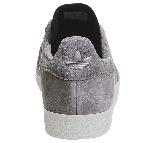 adidas Gazelle Damen Sneaker, Grau Solid Grey Four Silver Exclusive Größe: 9 UK