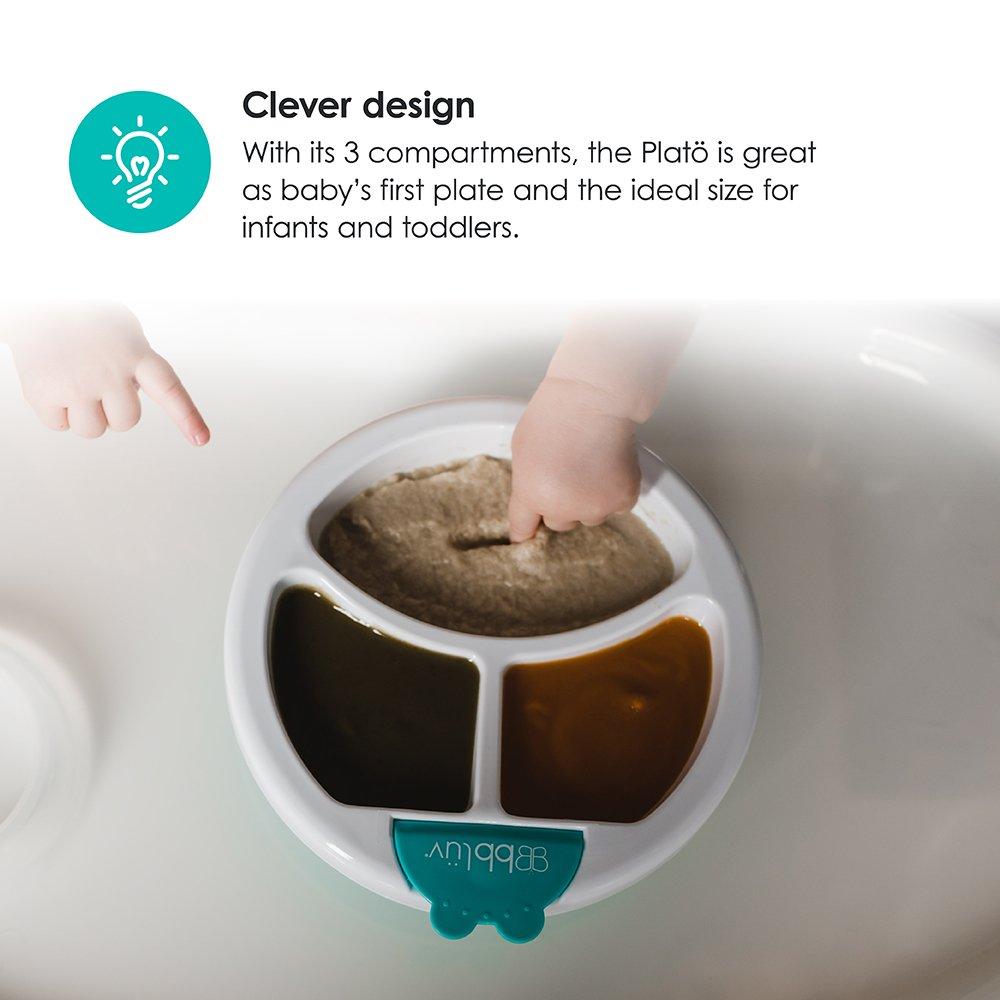 Aqua Warm Feeding Plate for Baby Plat/ö bbl/üv