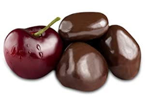 Andy Anand Vegan Dark Chocolate Covered California Cherry Wholesale Bulk, For Birthday, Valentine Day, Gourmet Christmas Holiday Food Gifts, Thanksgiving, Mothers Fathers Day, Weddings (2lbs)