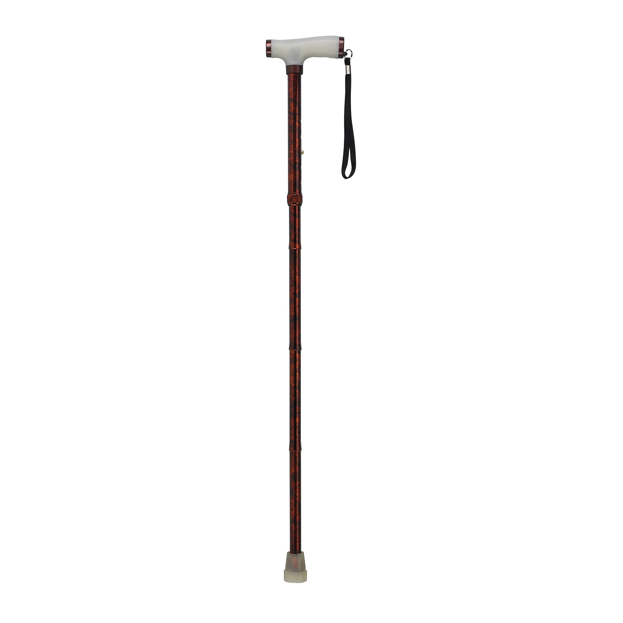 Drive Medical Folding Canes with Glow Grip Handle, Copper