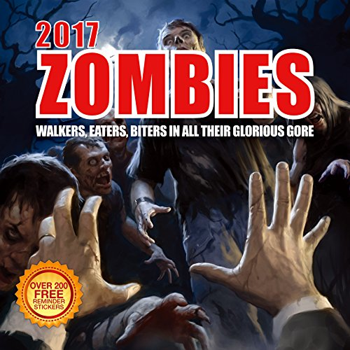 2017-Zombies-Calendar-12-x-12-Wall-Calendar-210-Free-Reminder-Stickers