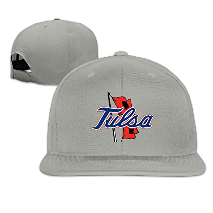 promo code 669eb 5ef68 clearance elishaj flat bill university of tulsa baseball cap hats ash 3fe56  21d8e