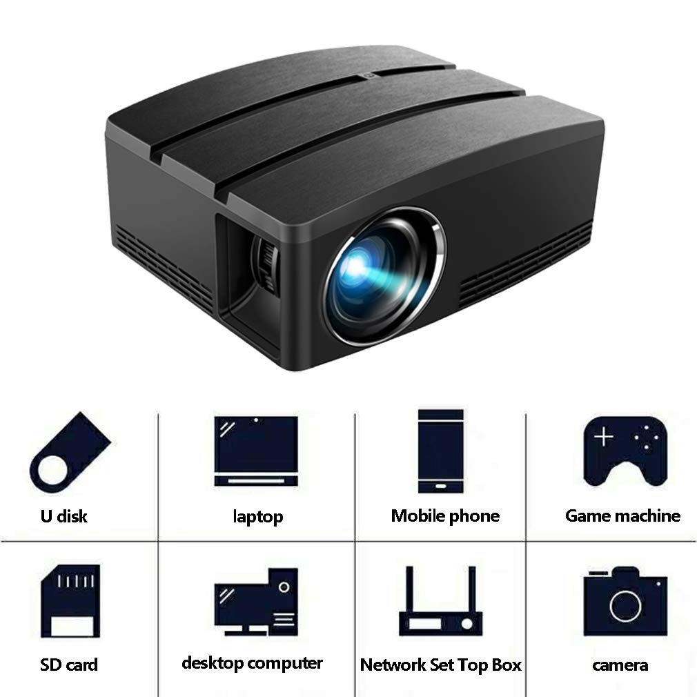 Amazon.com: HWUKONG Mini Projector, Android 6.0 Built-in ...