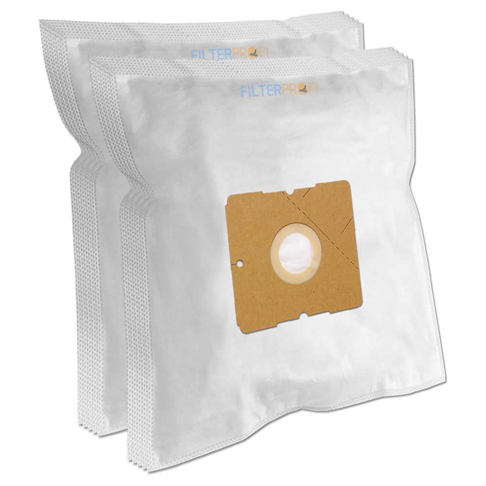10 SACCHETTI PER ASPIRAPOLVERE PRINCESS Silence Deluxe 700 Grau, Schwarz Filterprofi