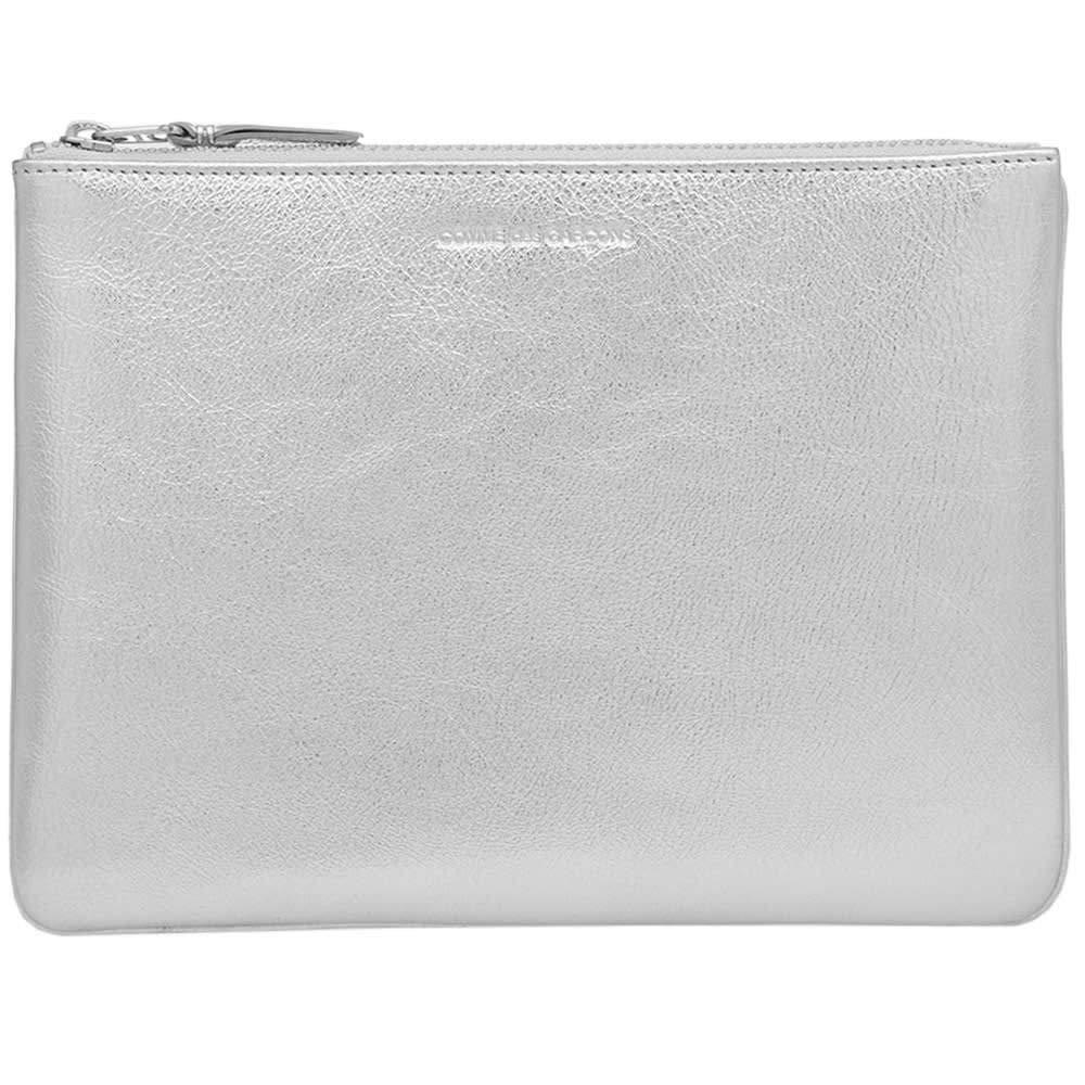 Comme Des Garçons Women's SA5100G2 gold Leather Wallet
