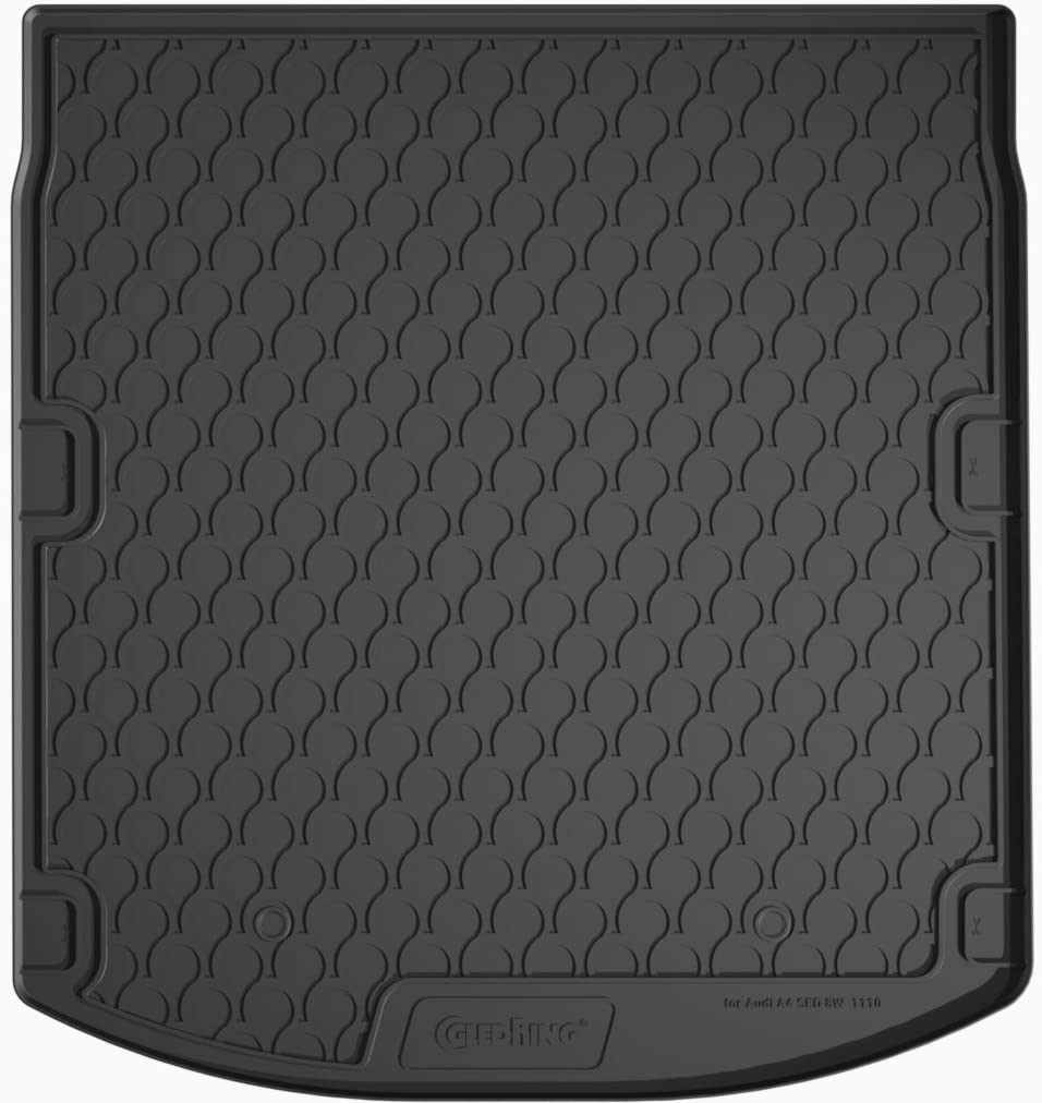 Trunk Mat A4 Sedan 2015 B9 Black Gledring 1110 Rubbasol Rubber