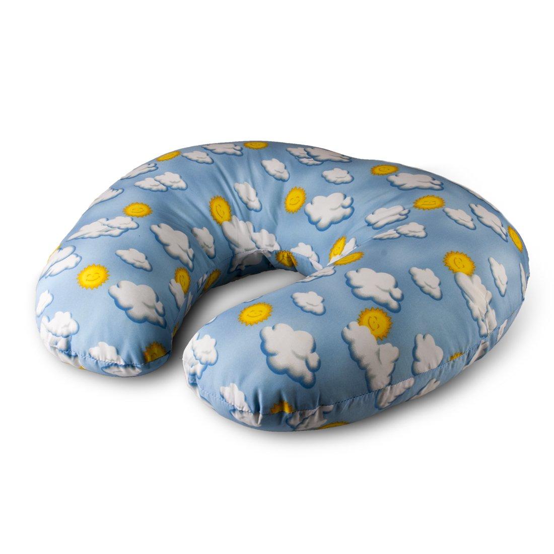 NurSit Basic Nursing Pillow, Clouds Print