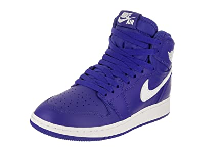 Nike Air Jordan 1 Retro High OG Hyper Royal Big Kids  Shoes Hyper Royal  bcedb60d78