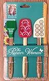The Pioneer Woman Cowboy Rustic 3 Piece Mini Spatula Tool Set