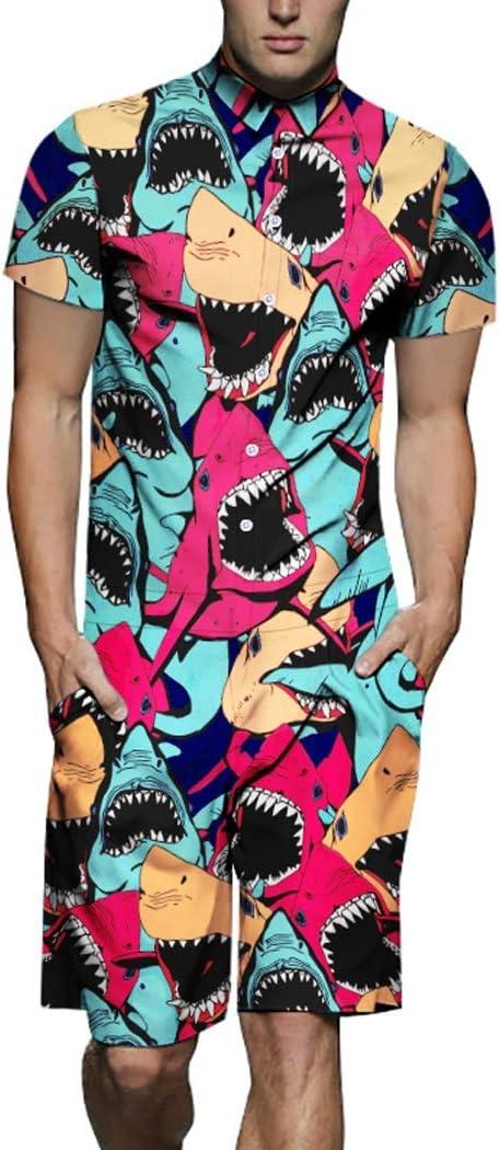 Pijamas de una Pieza Beach Bodies Hombres Y La Marea De Hip-Hop Camisa Mujeres Sueltan Tendencia Mono Mono Hombres De Conjunto (Color : Unisex, Size : XXXL): Amazon.es: Hogar