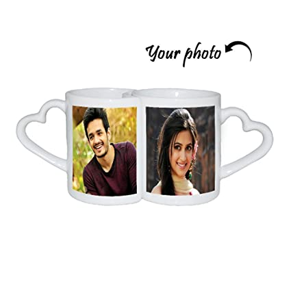 Huppme Personalized Couple Mug Customized Gifts Mugs Personalised