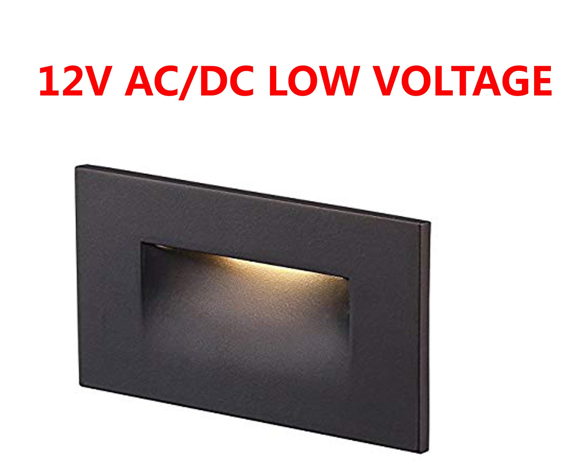 Cloudy Bay 12V Low Voltage LED Step Light,3000K Warm White,Stair Light,Oil Rubbed Bronze by CLOUDY BAY