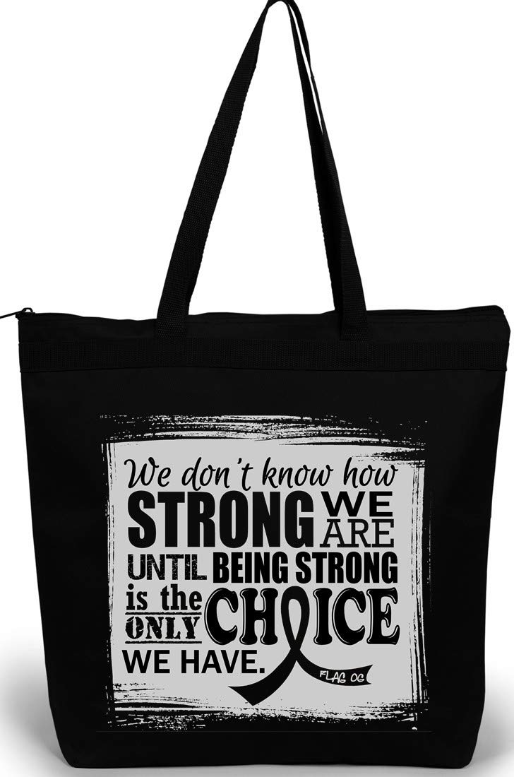How Strong We Are Tote Bag''The Darcey'' (Black)