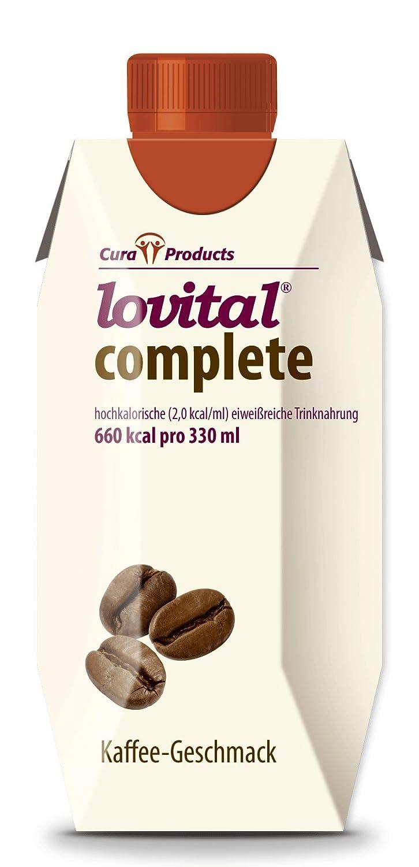 lovital complete Kaffee-Geschmack 12 x 330 ml, hochkalorische ...