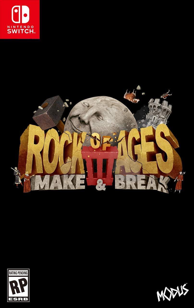Amazon.com: Rock of Ages 3: Make & Break (NSW): Nintendo ...