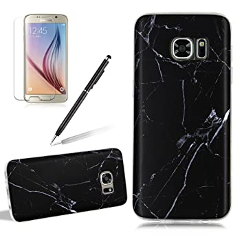 Girlyard Funda Samsung Galaxy S7 Mate Marmol- Ultra Slim Fina Gel TPU Goma Flexible Design Antigolpes Carcasa Protectora para Samsung Galaxy S7 Fundas ...