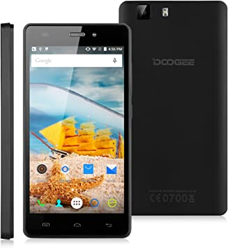 Doogee X5 Pro - Smartphone Libre 4G Android 5.1 (Quad Core, 5.0 ...