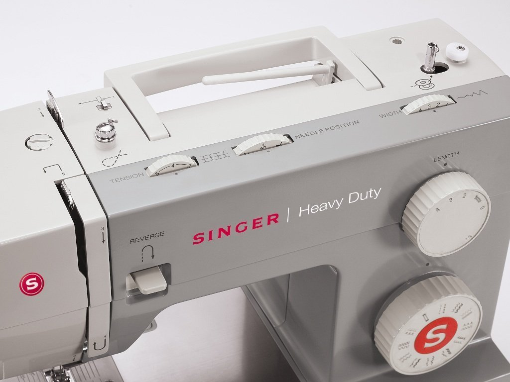 SINGER Heavy Duty Automatic sewing machine Eléctrico - Máquina de coser (Eléctrico, El pie para ojales, Protectora, Automatic sewing machine, Costura, ...