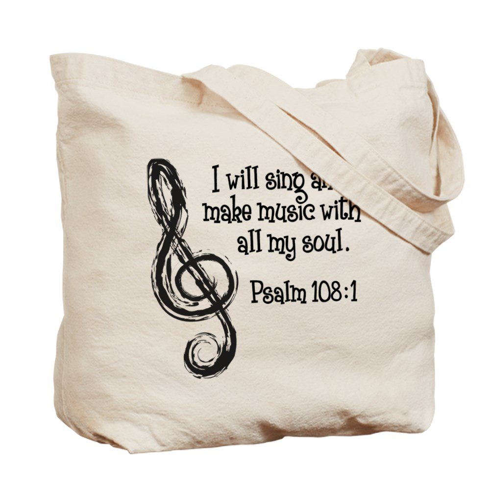 ビッグ割引 CafePress – Psalm 108 : : 1 1 – – ナチュラルキャンバストートバッグ、布ショッピングバッグ B06Y3XMTK4, vely:0f2cbe49 --- 4x4.lt