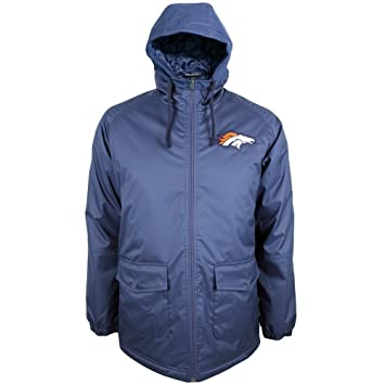 detailed look 57aad ddb62 New Era Denver Broncos 2015 Sideline Parka NFL Jacket XXL ...