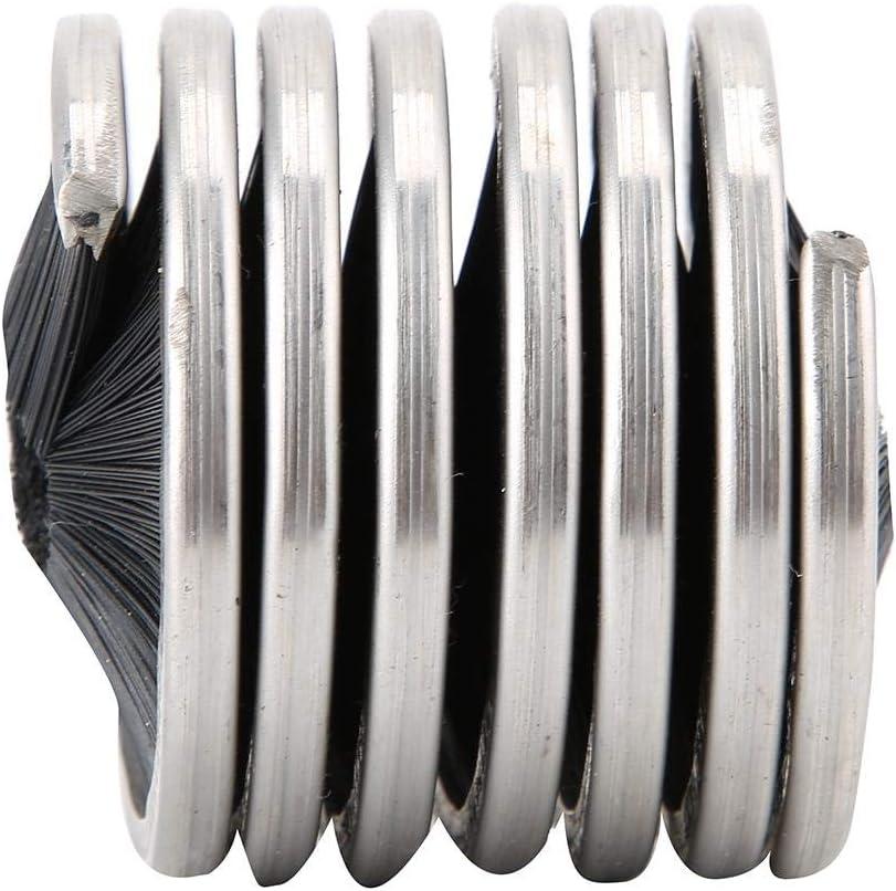 Spazzola per Pulizia Arrampicata allaperto Speleologia Corda per Pulizia Corda Corda per Lavaggio Diametro Corda 8-13mm//0,3-0,5 Pollici Keenso Spazzola per Pulizia Corda